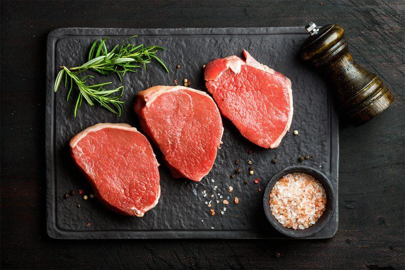 PRIME ANGUS TOP ROUND STEAK   Utah Beef